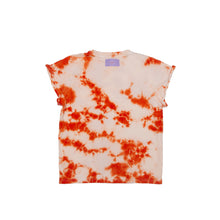 Load image into Gallery viewer, Maylee - Orange Crush Dye Tee