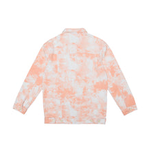 Load image into Gallery viewer, Tie Dye Orange Jacket