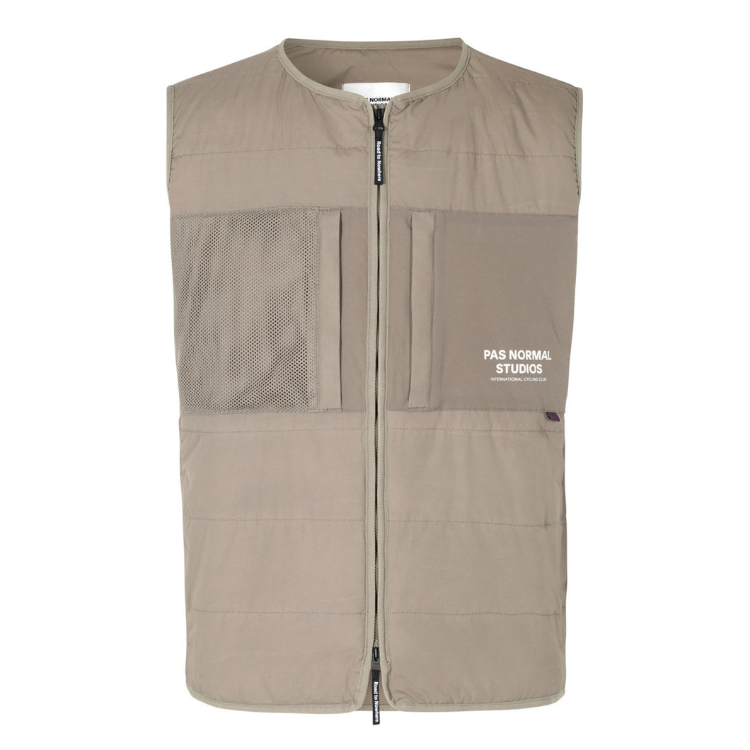 Pas Normal Studios - Off Race Thermal Gilet - Beige