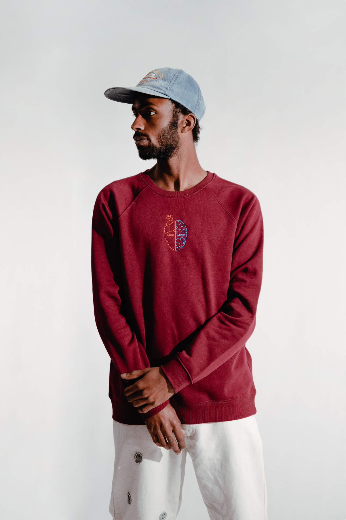 Kind Mind Bordeaux Sweatshirt