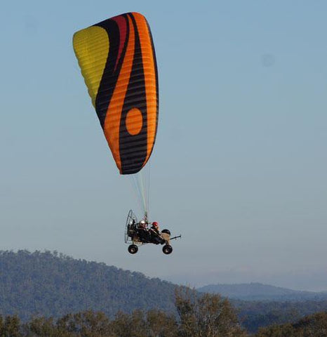 Wheelbase Powered Paragliding - Tribal Flight Paragliding