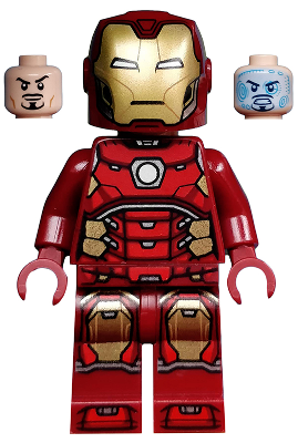 LEGO® Minifigur Marvel Super Heroes Iron Man sh612 (76166/76164/76140/76170)