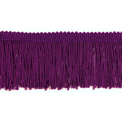 "Crystal Purple - 2"" Fringe"