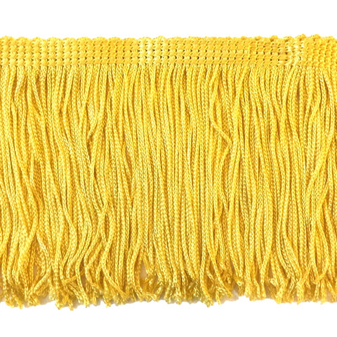 "Lemon Yellow - 4"" Fringe"