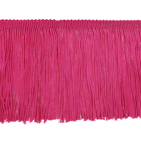 "Light Fuchsia - 4"" Fringe"
