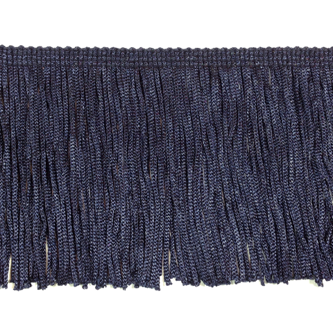 "Navy Blue - 4"" Fringe"