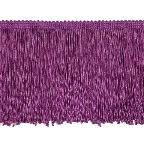 "Crystal Purple - 4"" Fringe"