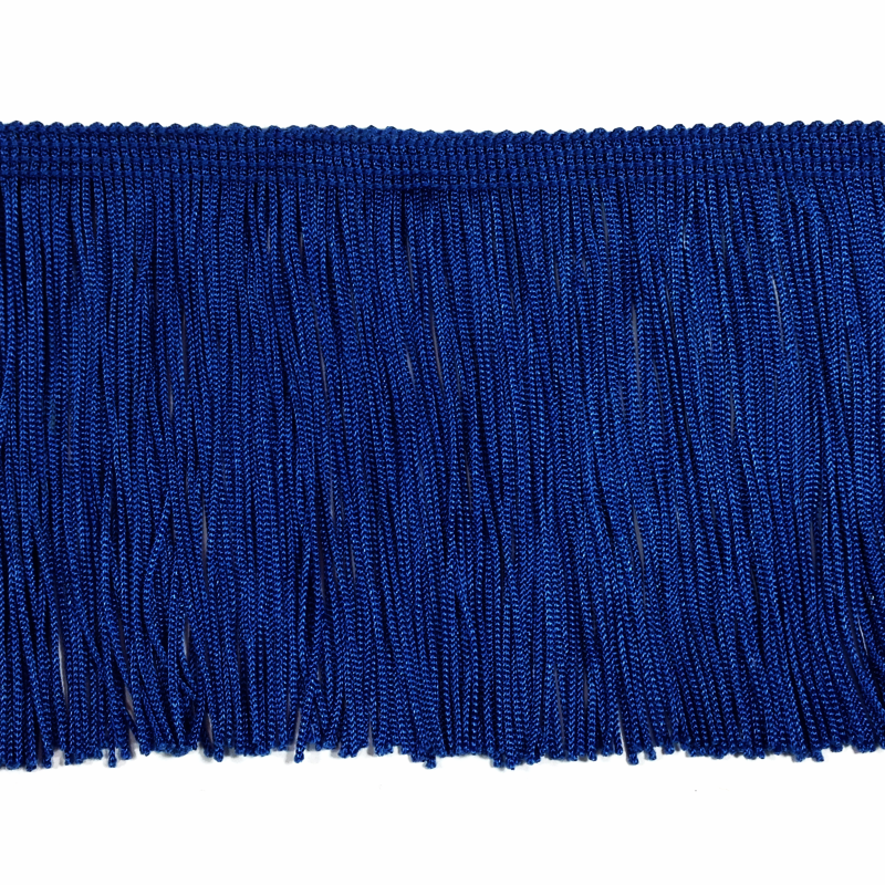 "Royal Blue - 4"" Fringe"