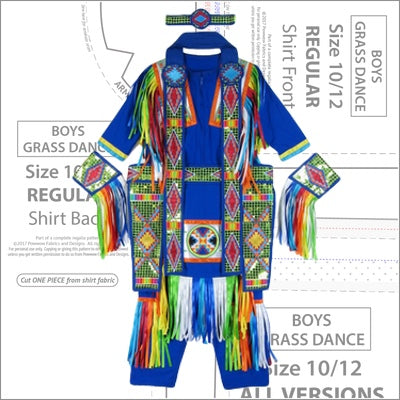 Boys Grass Dance Pattern Book
