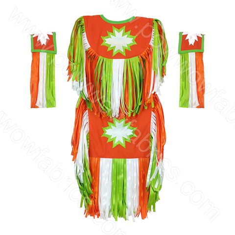 Boys 5-6 Grass Dance Outfit