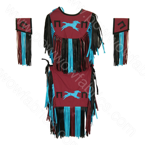 Boys 6-8 Grass Dance Outfit