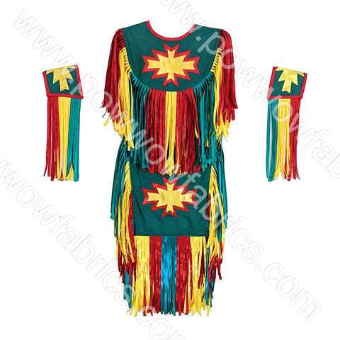 Boys 10-12 Grass Dance Outfit