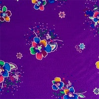 FABRIC PAGE: Crystal Floral Satin