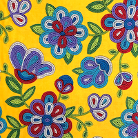 FABRIC PAGE: Native Print Cotton