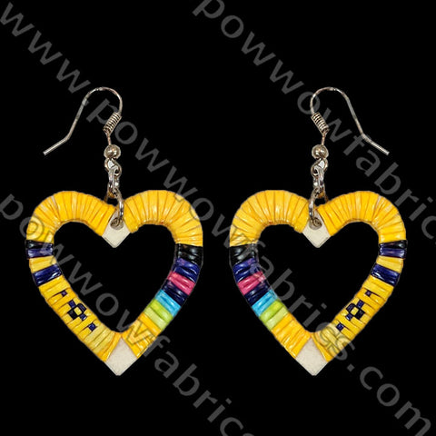 Heart - Quilled Earrings