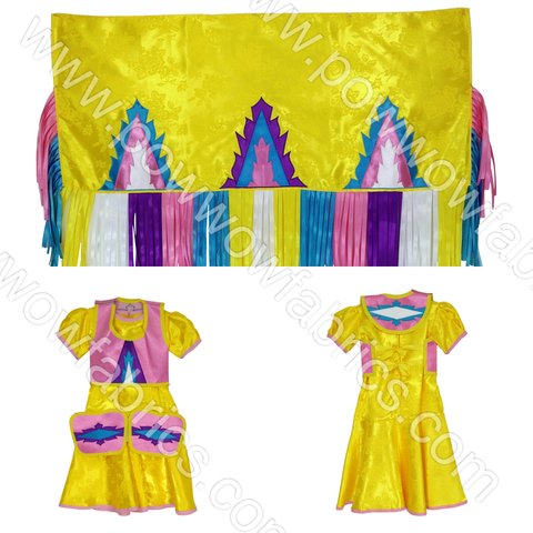 Girls 2-3 Fancy Shawl Outfit