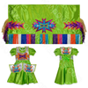 Girls 4-5 Fancy Shawl Outfit