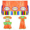 Girls 10-12 Fancy Shawl Outfit (Full Cut)