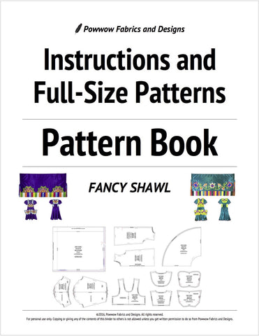 Girls Fancy Shawl Outfit Pattern Book