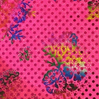 FABRIC PAGE: Floral Sparkle Dot