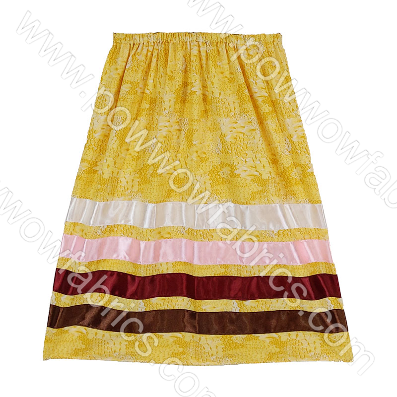 Girls Large Ribbon Skirt