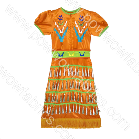 Girls 8-10 Slim Jingle Dress Outfit