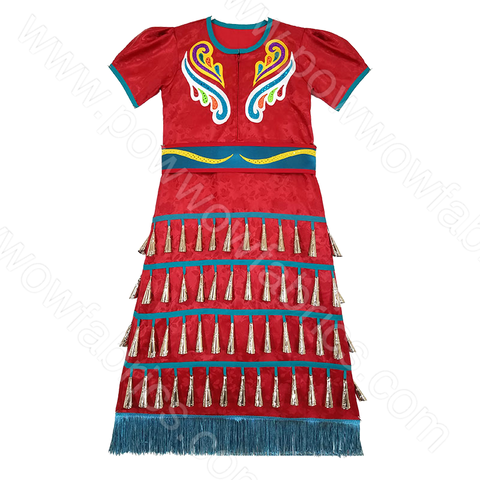 Girls 8-10 Jingle Dress Outfit