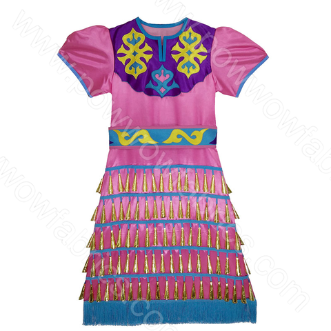 Girls 10-12 Fuller Cut Jingle Dress Outfit
