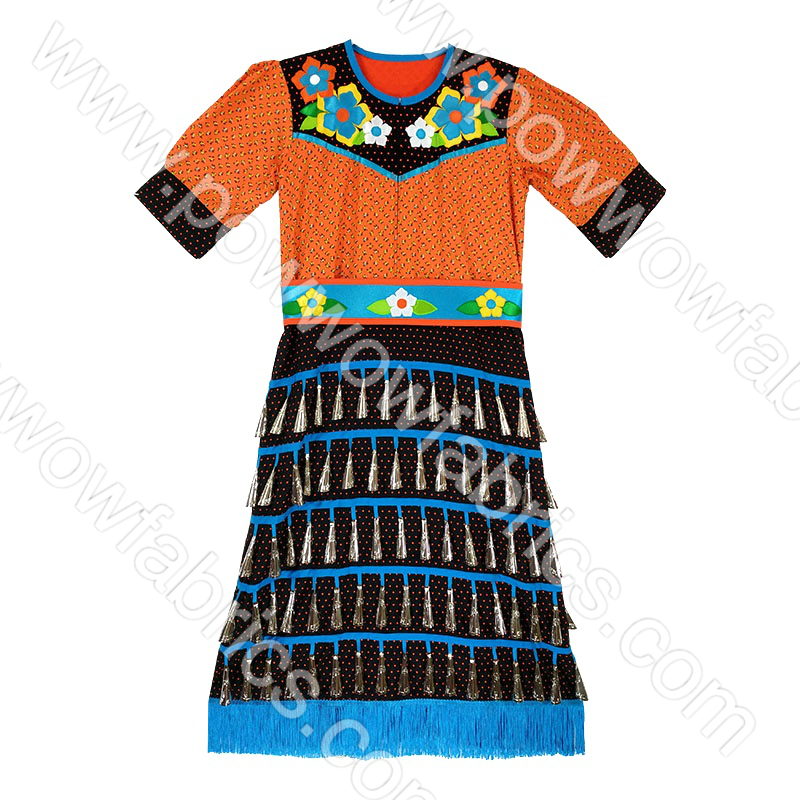 Girls 12-14 Full Jingle Dress Outfit