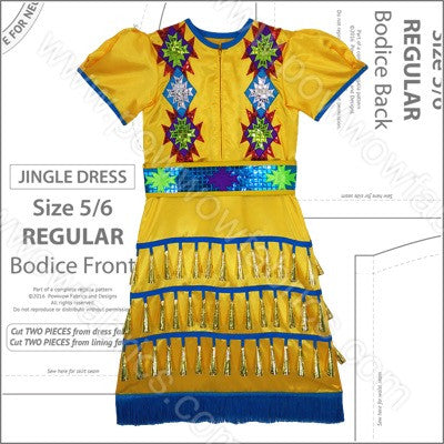 Girls Jingle Dress Pattern Book