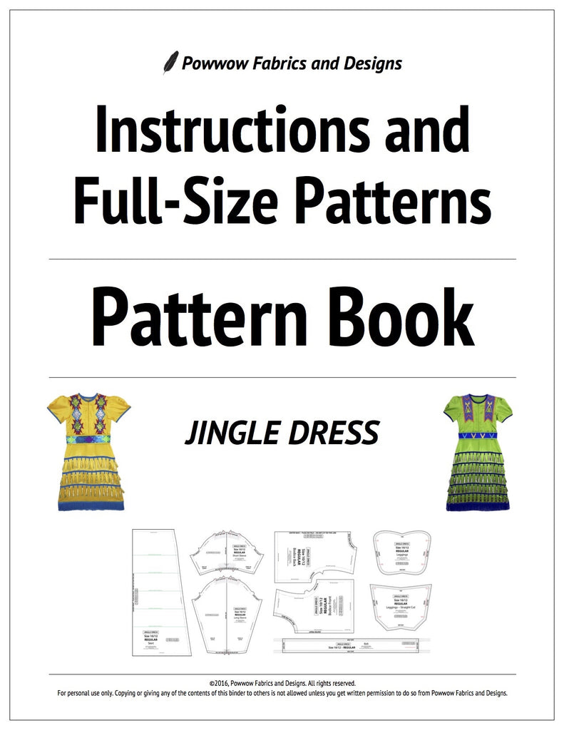 Girls Jingle Dress Outfit Pattern Book