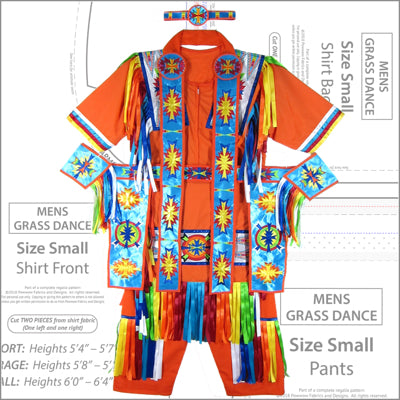 Mens Grass Dance Pattern Book
