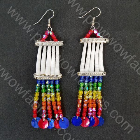 One Row - Dentellia Earrings