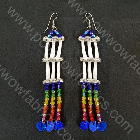 Two Rows - Dentellia Earrings