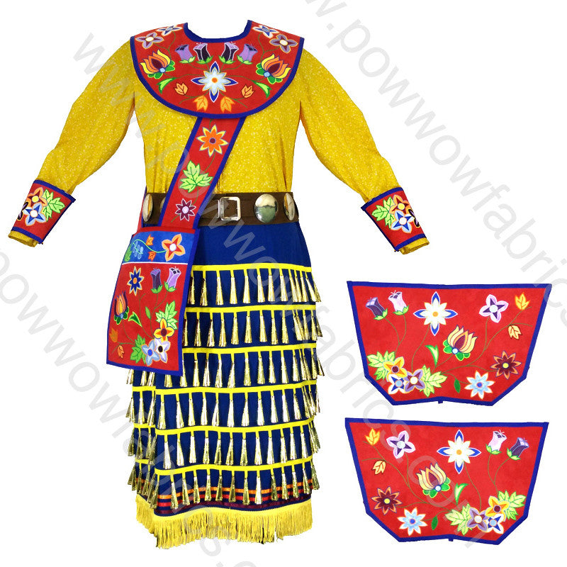 Womens 18-20 Jingle Dress Outfit