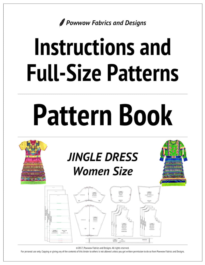 Womens Jingle Dress Outfit Pattern Book