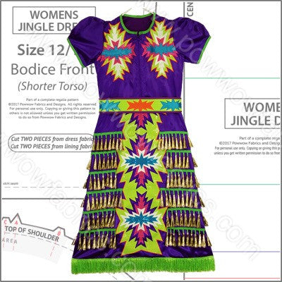 Womens Jingle Dress Pattern Book
