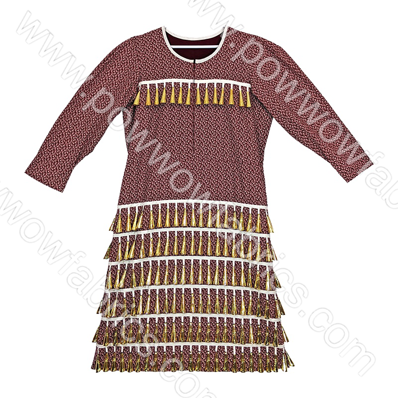 Womens 20-22 Old Style Jingle Dress