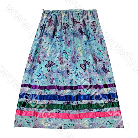 Womens Small Ribbon Skirt