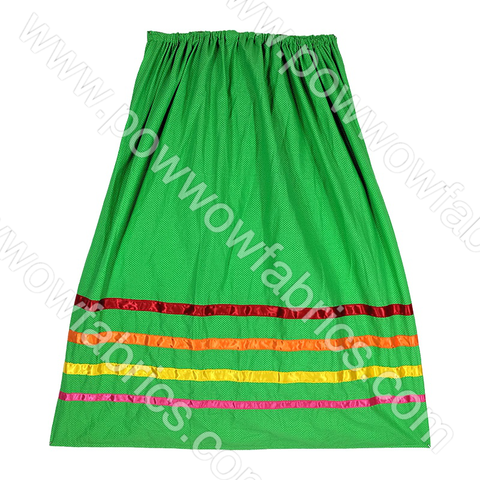 Womens Medium Ribbon Skirt