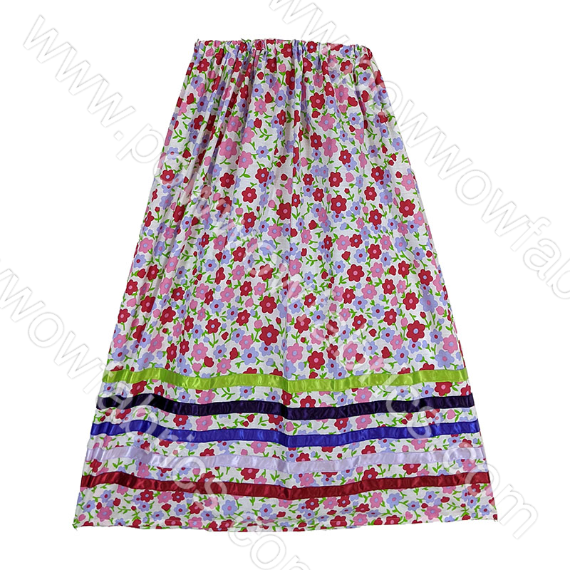 Womens Large Ribbon Skirt