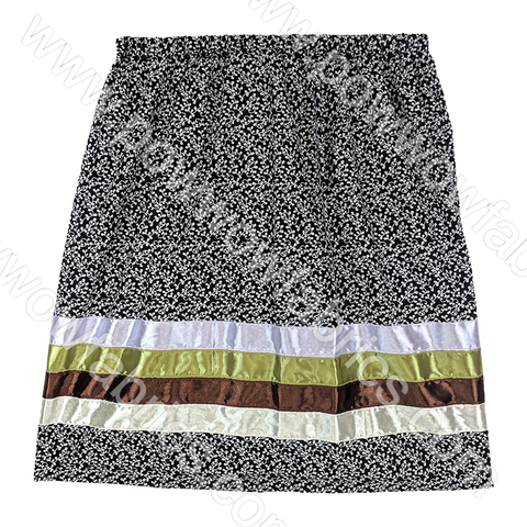 Womens Extra Extra Large Ribbon Skirt