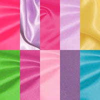Brights and Lights (Bridal Satin) - Fabric Packs