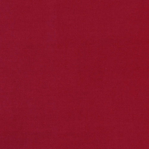 Burgundy - Cotton/Polyester Broadcloth