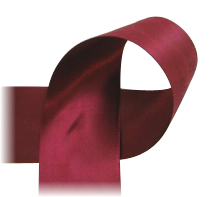 "Burgundy - 7/8"" Ribbon"