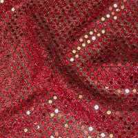 Burgundy - Sparkle Dot
