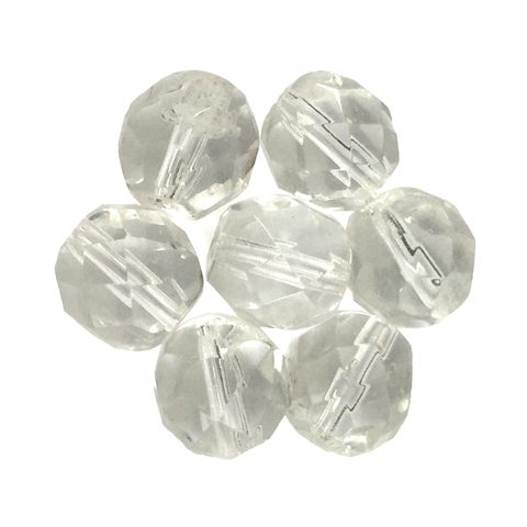 Crystal - Glass Fire Polished Beads, 8mm
