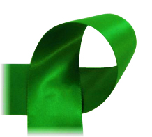 "Crystal Green - 7/8"" Ribbon"