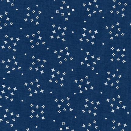 Dark Blue #1 - Cotton Calico