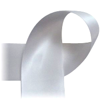 "Dark Silver - 7/8"" Ribbon"
